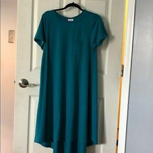 NWOT Medium Teal Blue Green Carly